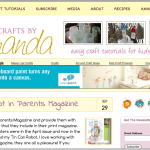 Crafts by Amanda moved to Wordpress