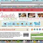 Amanda's Cookin' has moved to Wordpress