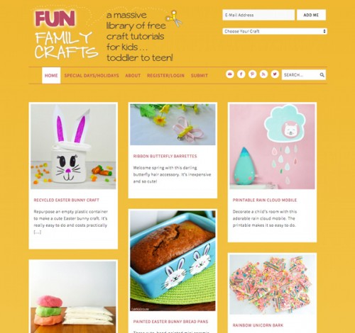 Fun Family Crafts is a blog by Amanda Formaro