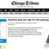 Chicago Tribune Crafts Column