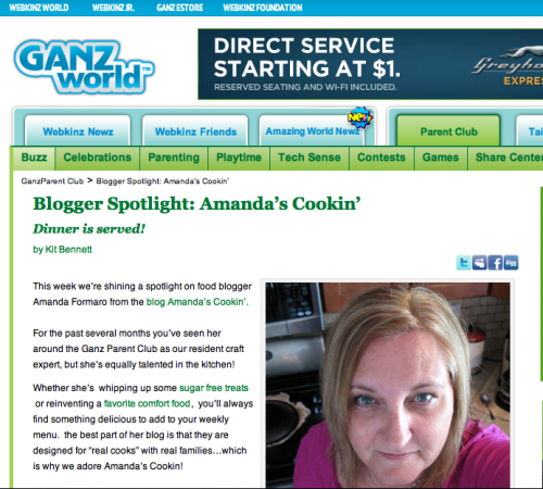 Featured Interview on Ganz Parents Club
