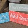 Custom beach house signs - AmandaFormaro.com