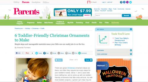 Amanda Formaro's crafts on Parents.com