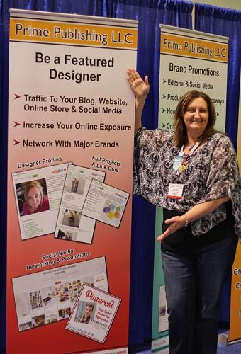 Amanda on display via Prime Publishing