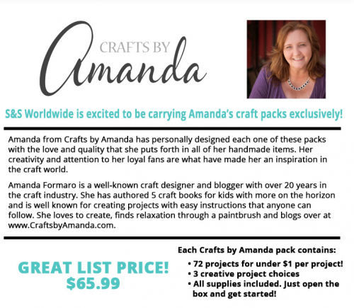 Crafts by Amanda Craft Kits Are Here!